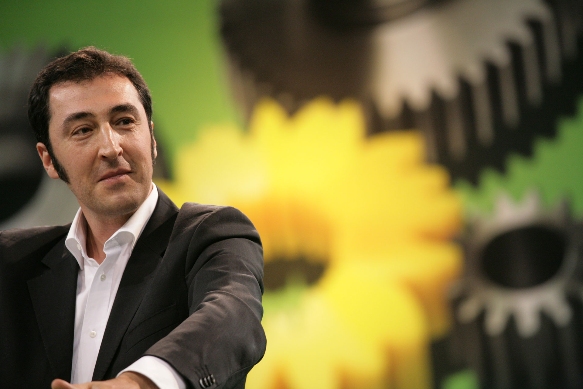 Cem Özdemir auf dem Bundesparteitag in Berlin /BÜNDNIS 90 - DIE GRÜNEN