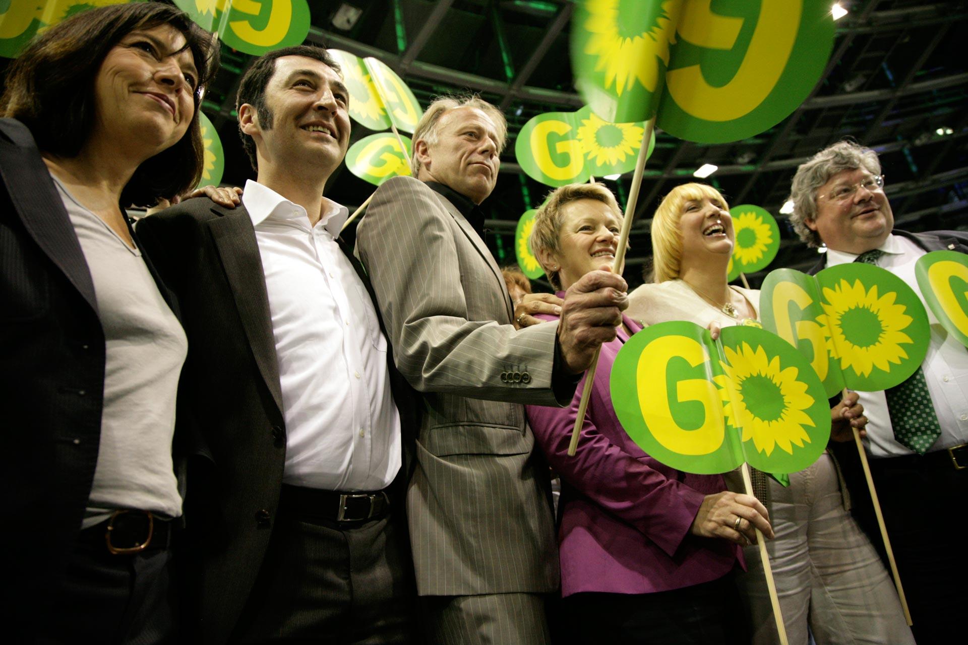 Bundesparteitag in Berlin /BÜNDNIS 90 - DIE GRÜNEN
