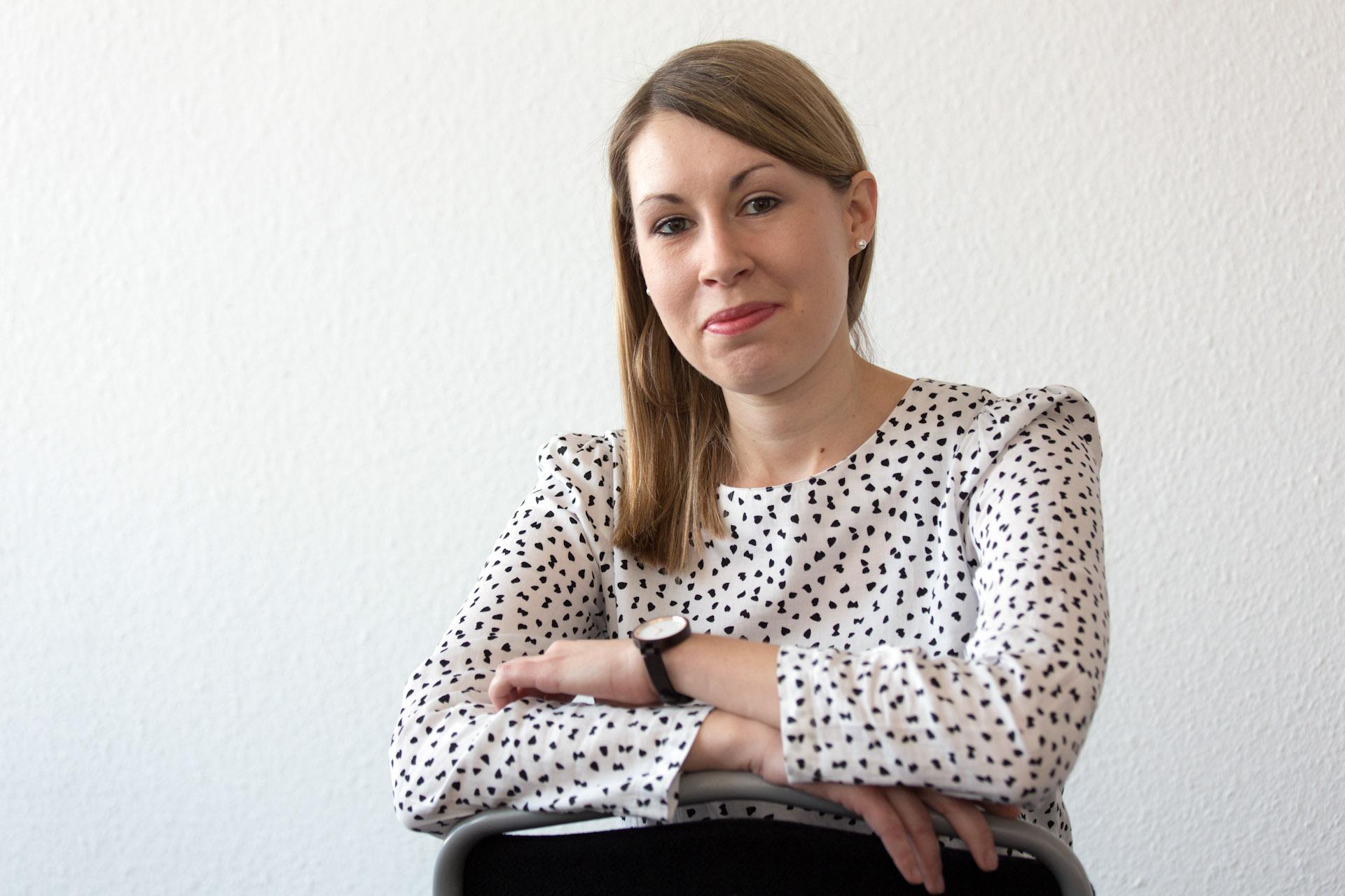 """Luisa Boos, Generalsekretärin der SPD in Baden-Württemberg - Luisa Boos, Generalsekretärin der SPD in Baden-Württemberg -  """"Kopf über Herz"""" taz. die tageszeitung 03.03.2018"""