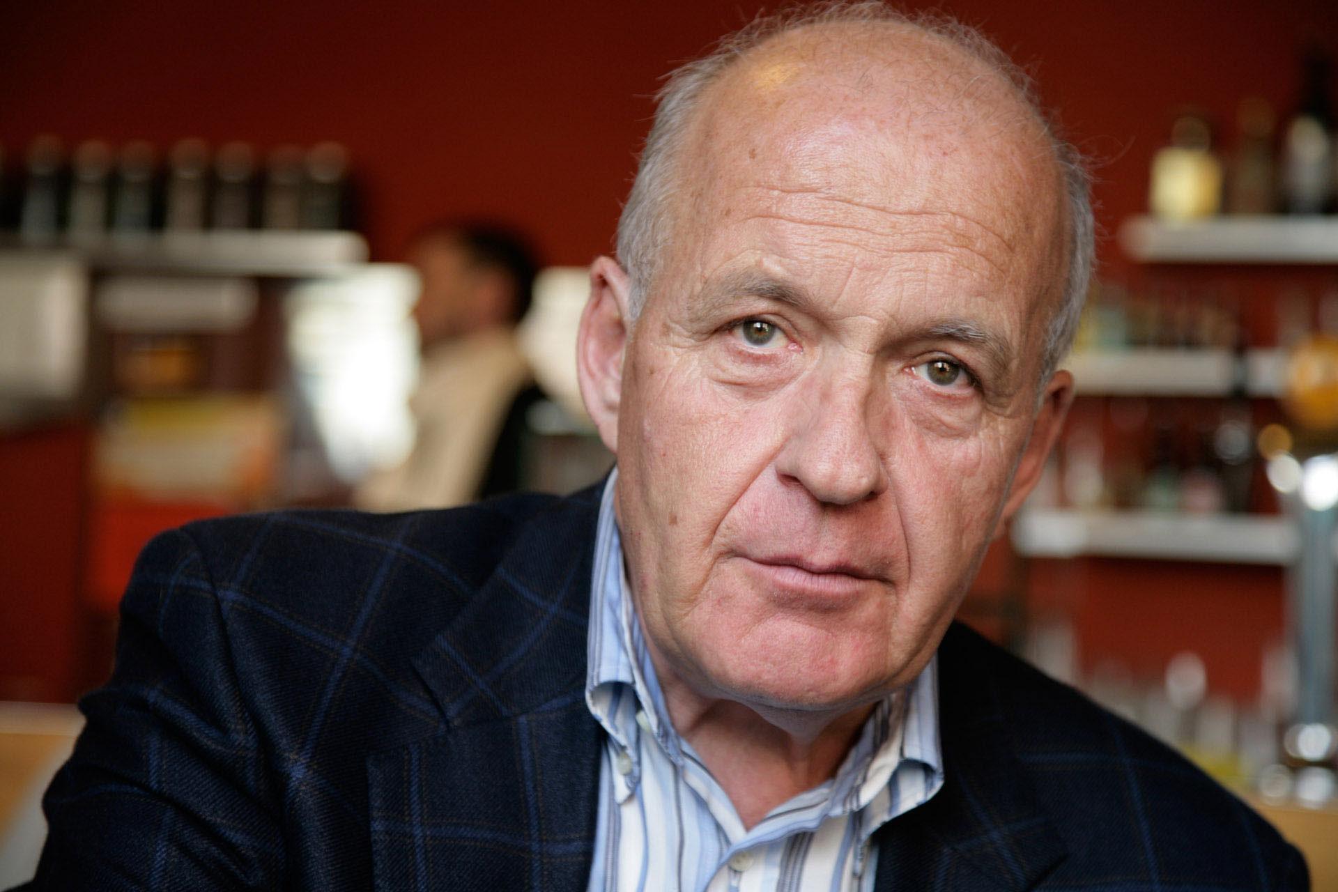 Götz Werner, 35 Jahre lang Geschäftsführer des Unternehmens dm-drogerie markt,  ist von der Idee des Grundeinkommens überzeugt. -