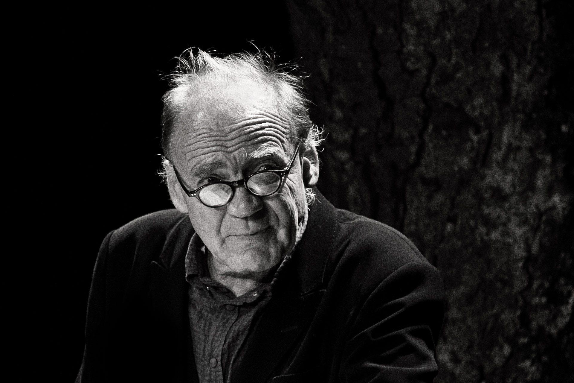 Bruno Ganz bei einer Lesung, Theater im Hof, Kandern, († 16.02.2019)