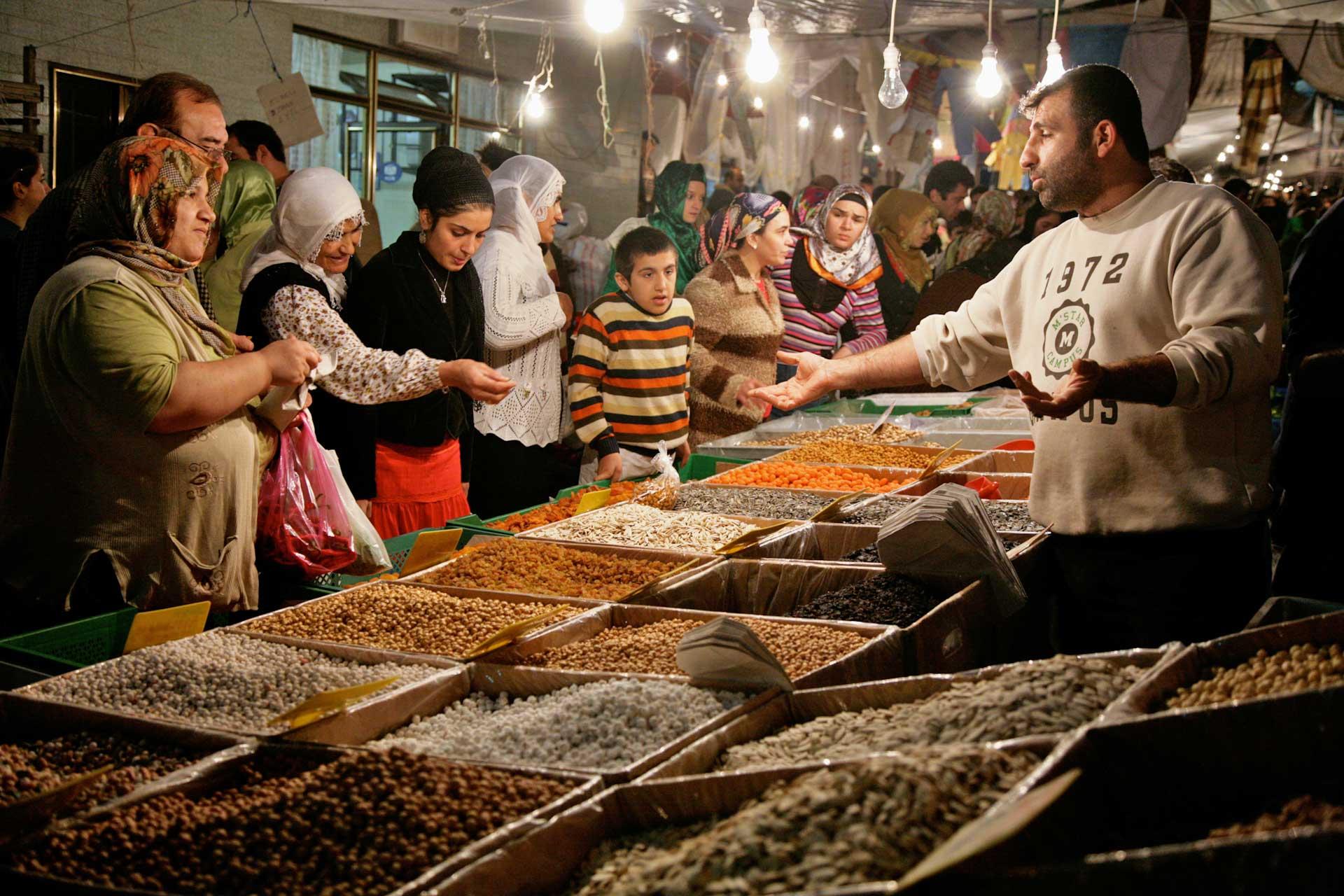 Market in Tarlabaşı