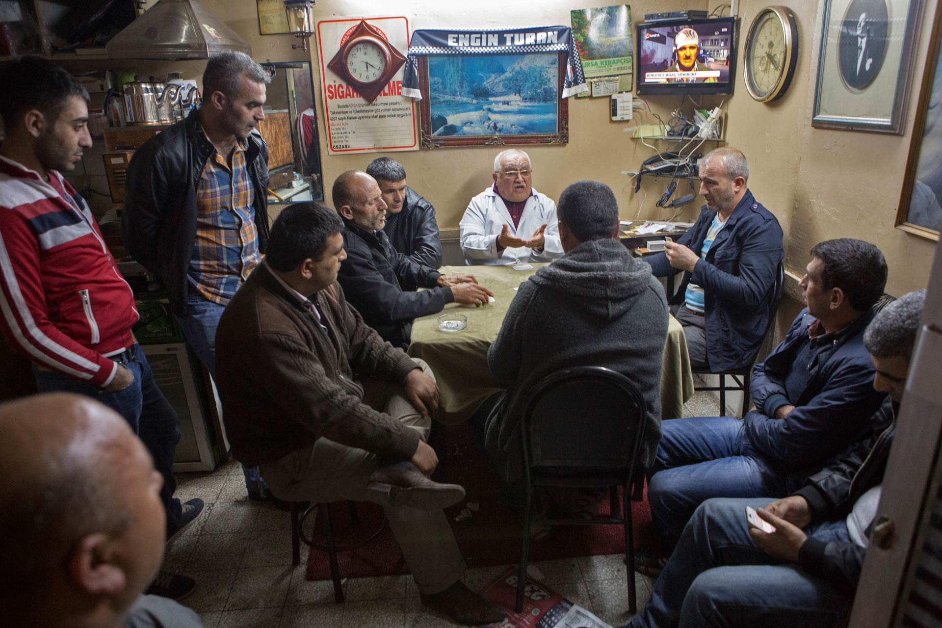 Gambling in the backstreets of Beyoğlu