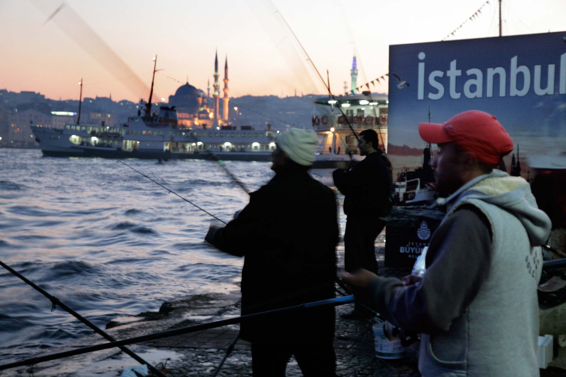 Fishing in Karaköy