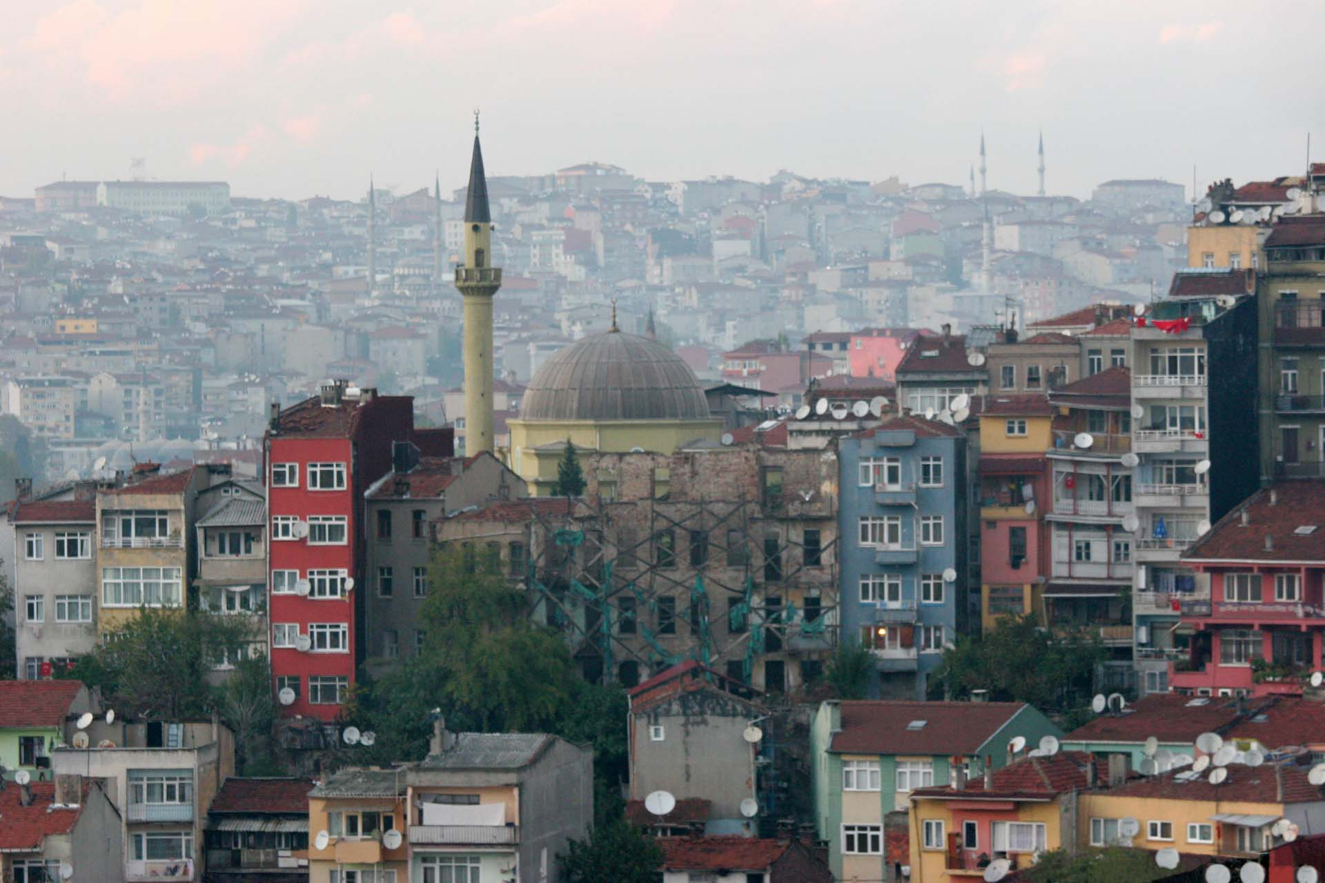 Istanbul, endless sea of houses