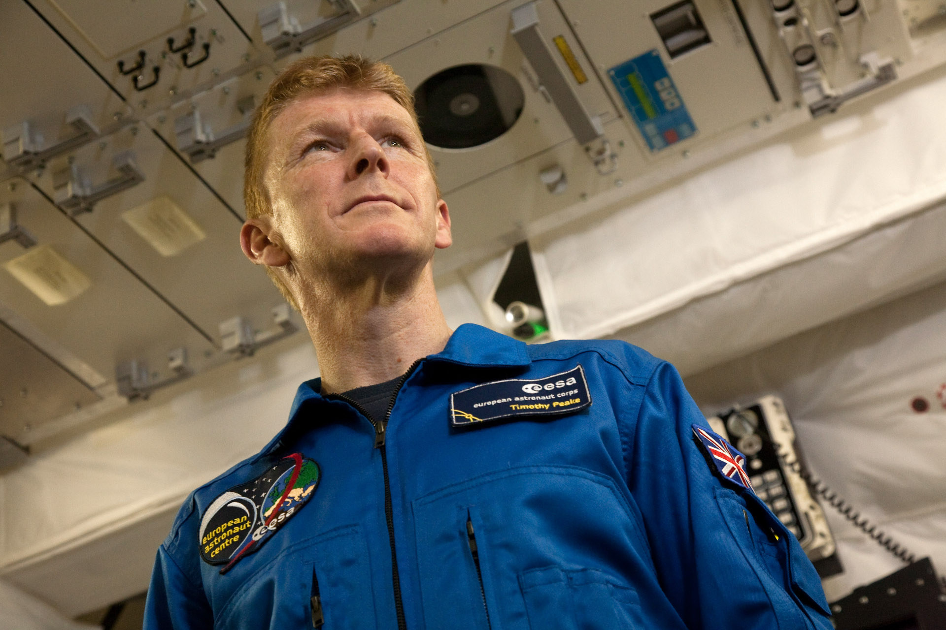 "Britain's first official astronaut Major Timothy Peake, EAC, Cologne -  ""Next stop Mars"" THE GUARDIAN on Saturday 25.05.2013"