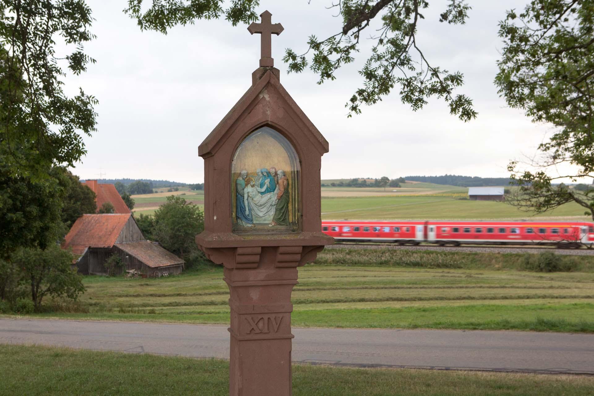 Der badische Wallfahrtsort Löffingen, liegt am Jakobsweg.