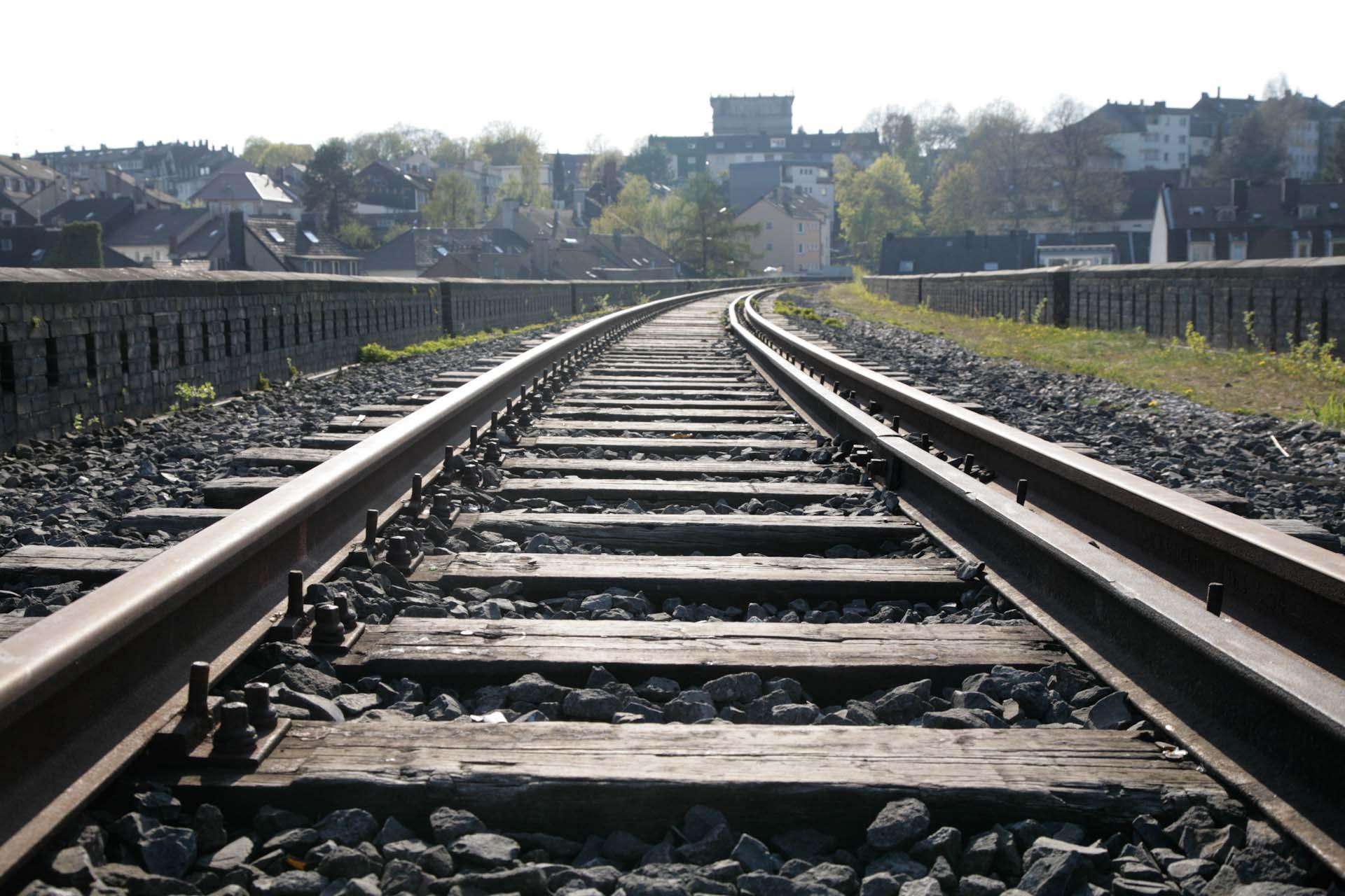 Die Nordbahntrasse ist mittlerweile zum vorbildlichen Fussgänger- und Radschnellweg umgebaut