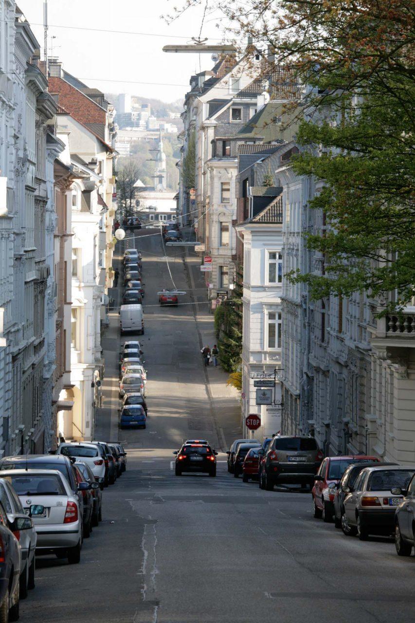 Typisch Nordstadt Elberfeld, mit denkmalgeschützten Wohnhäusern