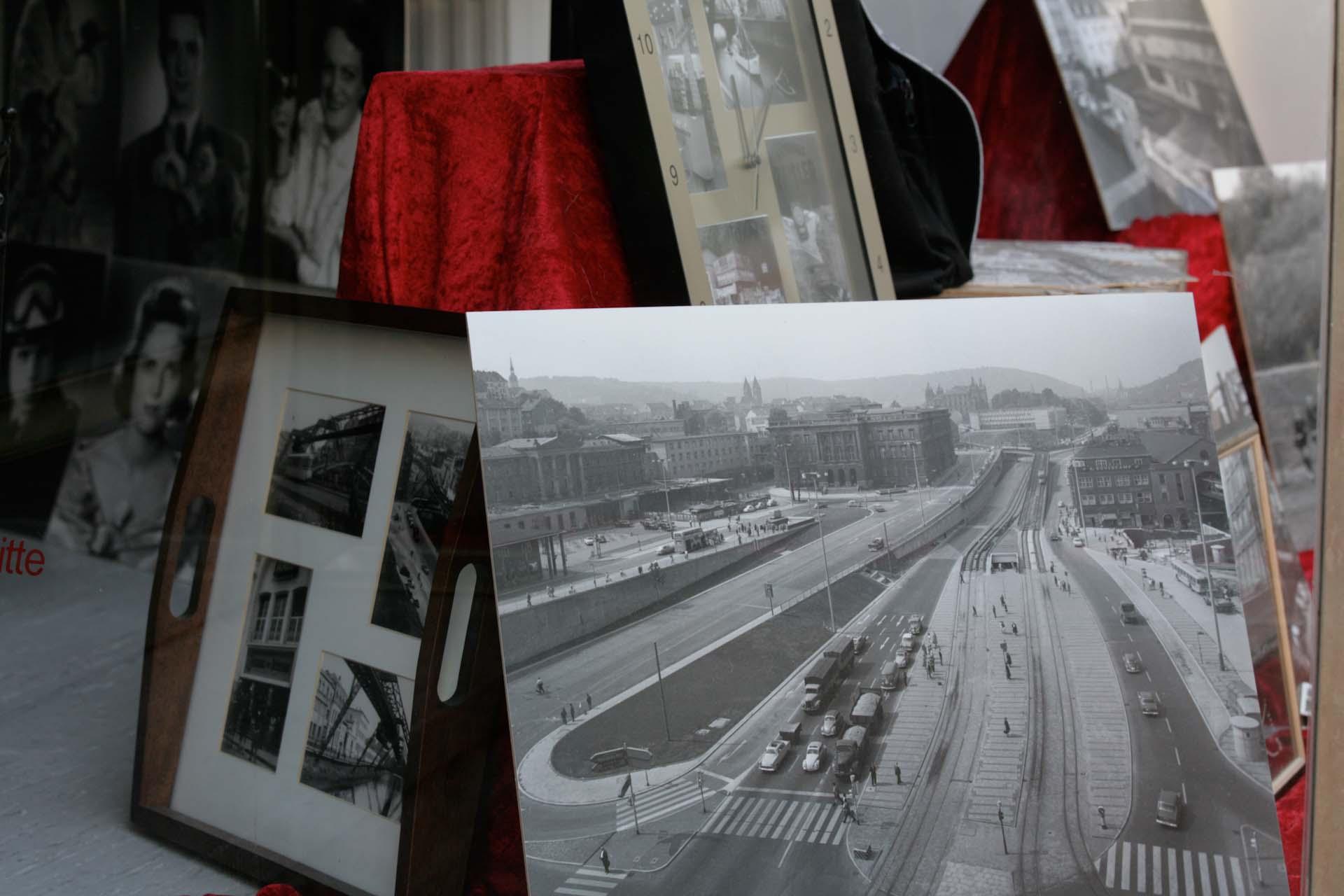 Der Döppersberg, hier ein Traum der 60er Jahre, von einer autogerechten Stadt