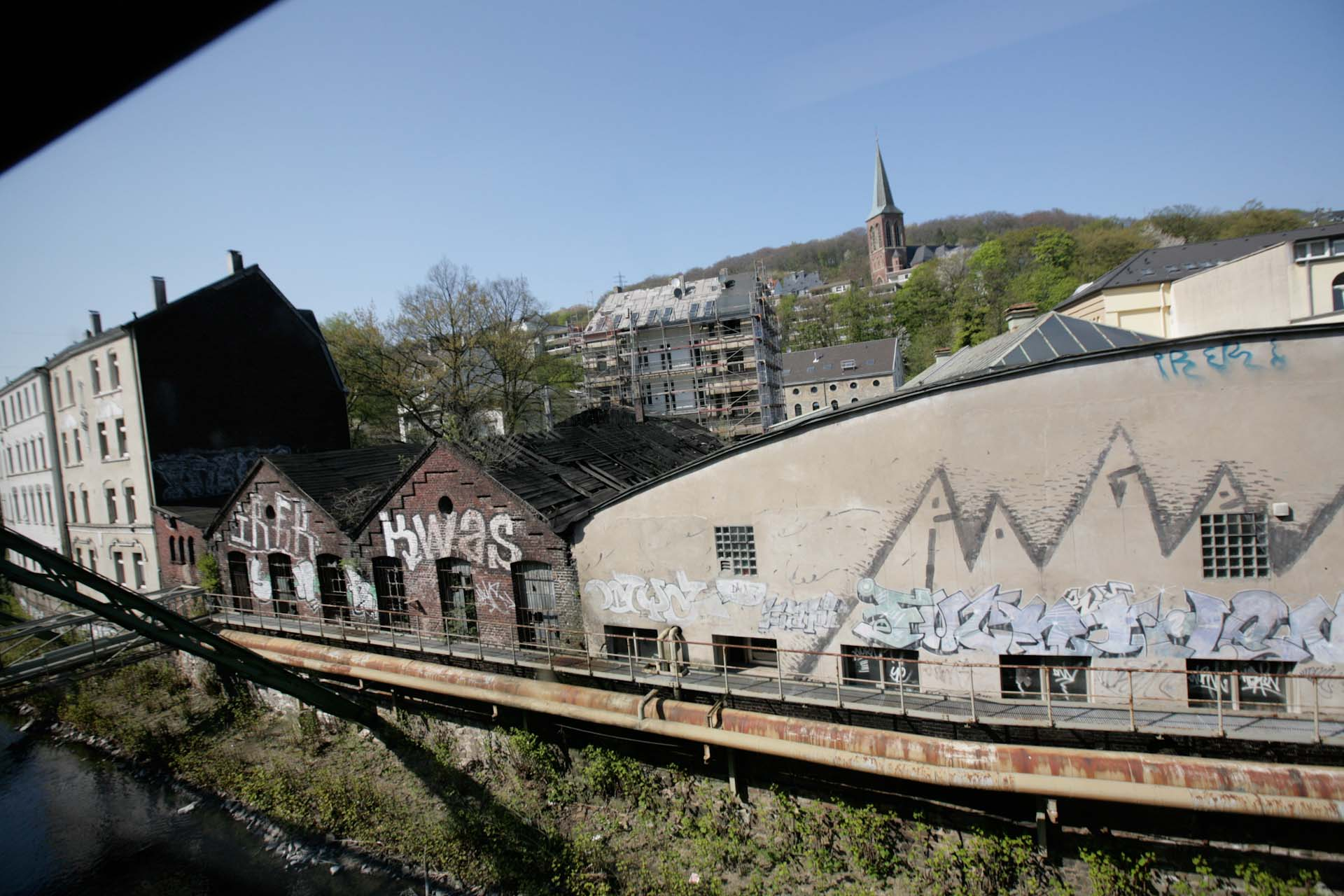 Eine Fahrt ist auch eine Reise durch die frühe Industriegeschichte Deutschlands