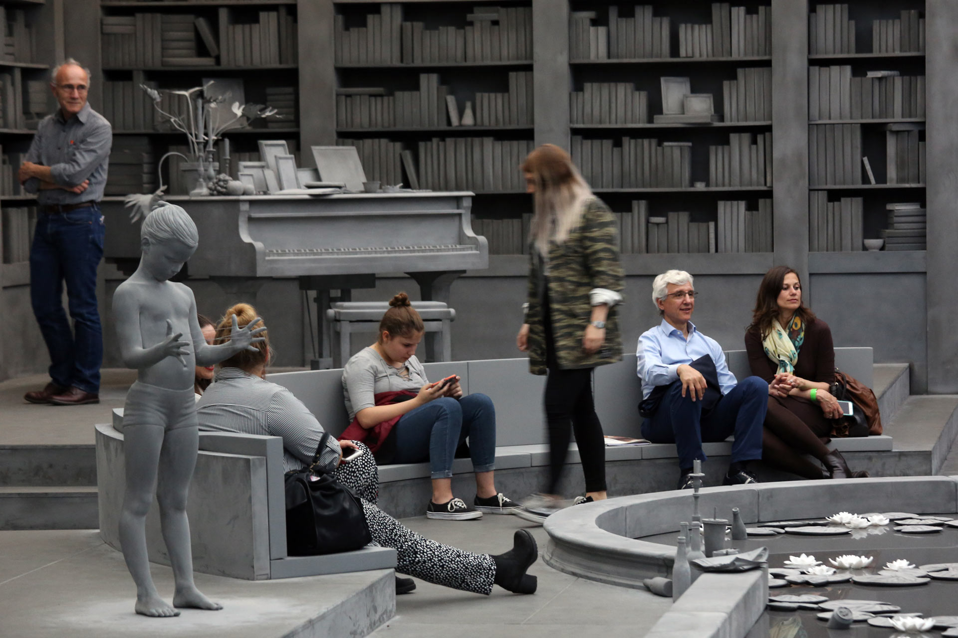 "Art Unlimited 2016: The installation by Hans Op de Beeck: ""The Collector's House"", 2016"