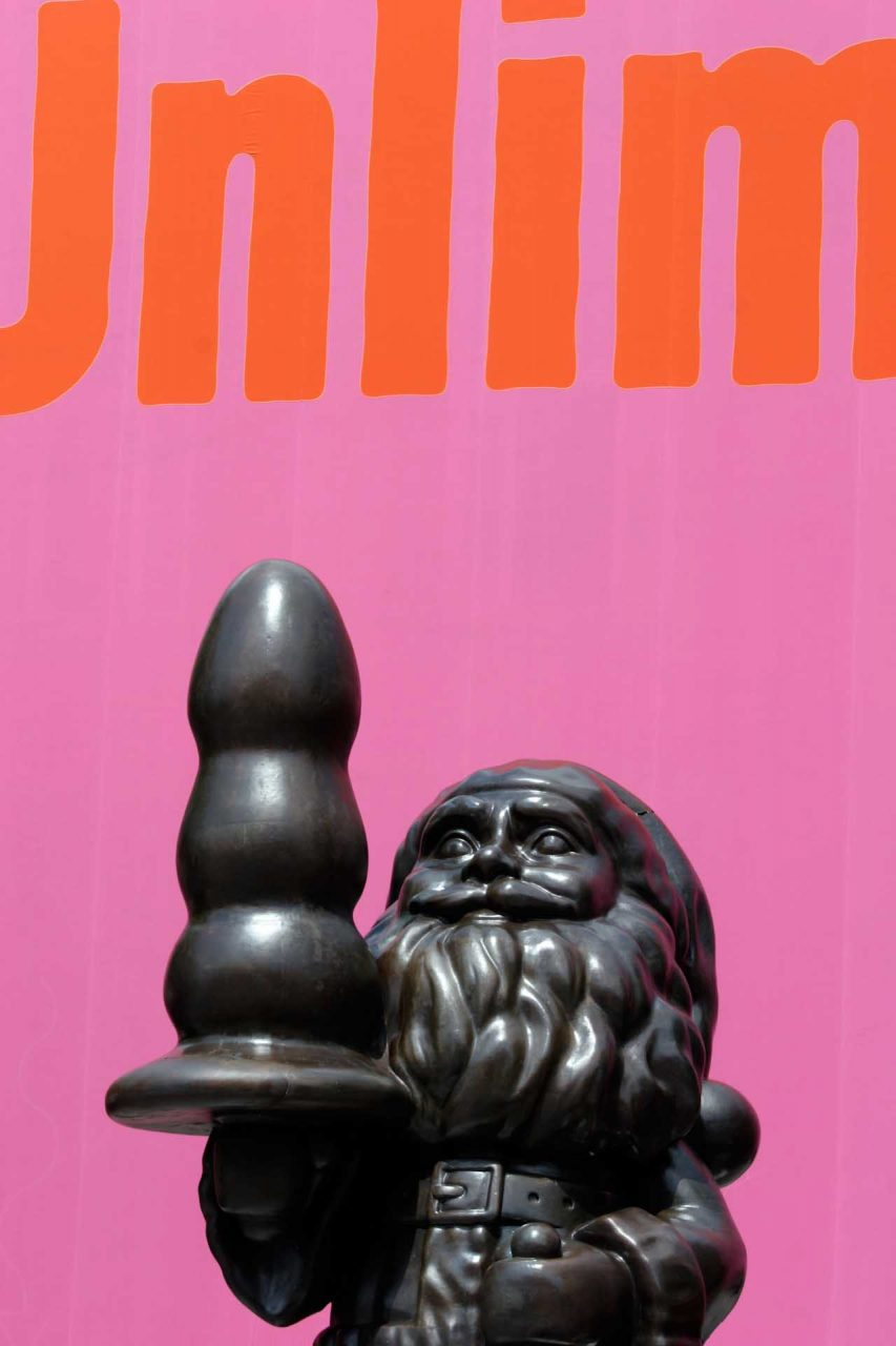 "Art Public 38, 2007: A public art sculpture by Paul McCarthy: ""Santa with Butt Plug"", 2002/2007"