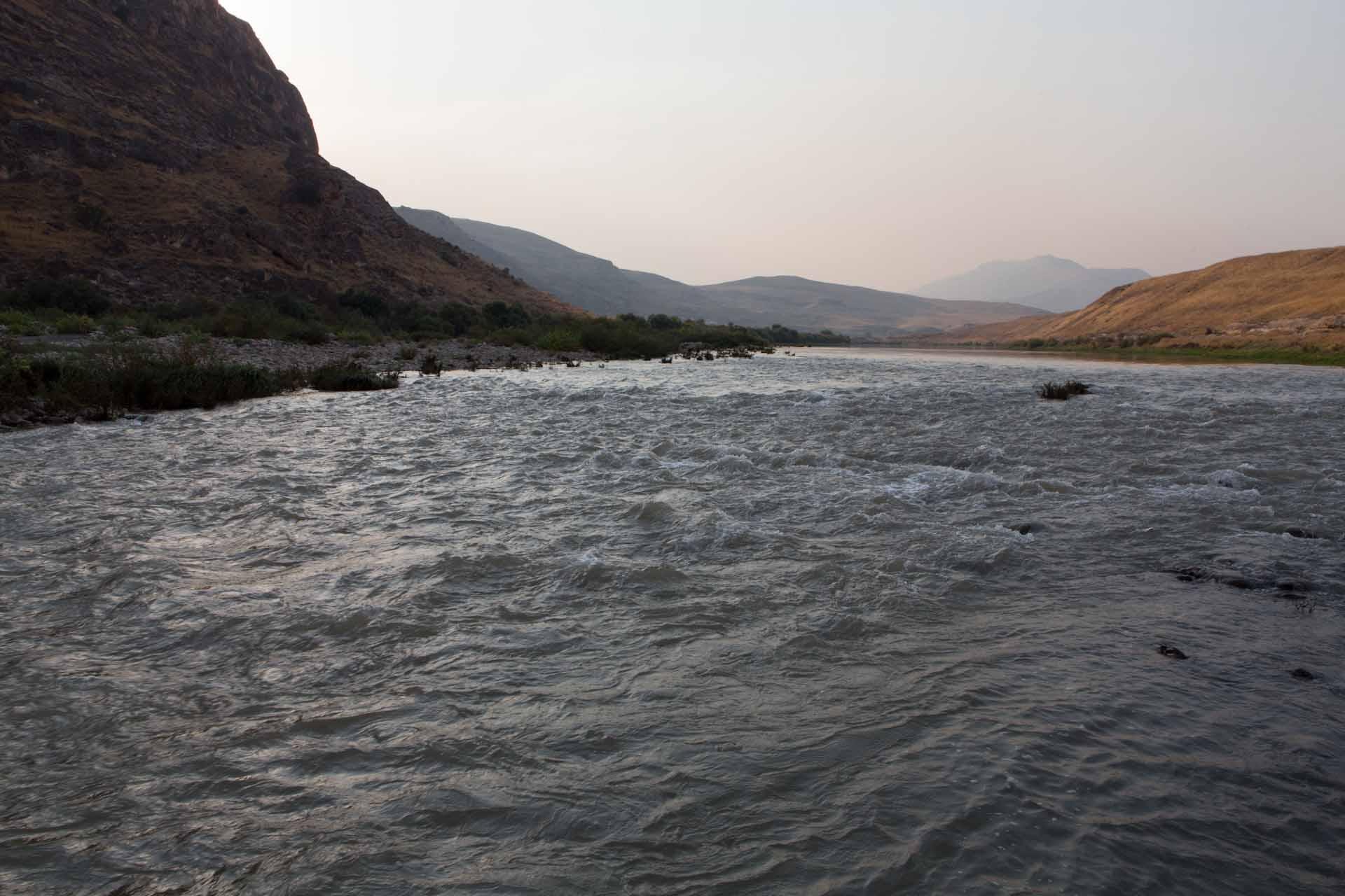Im idyllischen Tal des Tigris bei Hasankeyf.