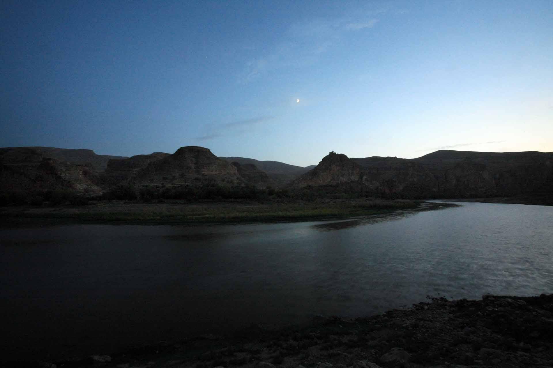 Nacht über dem Tigris.