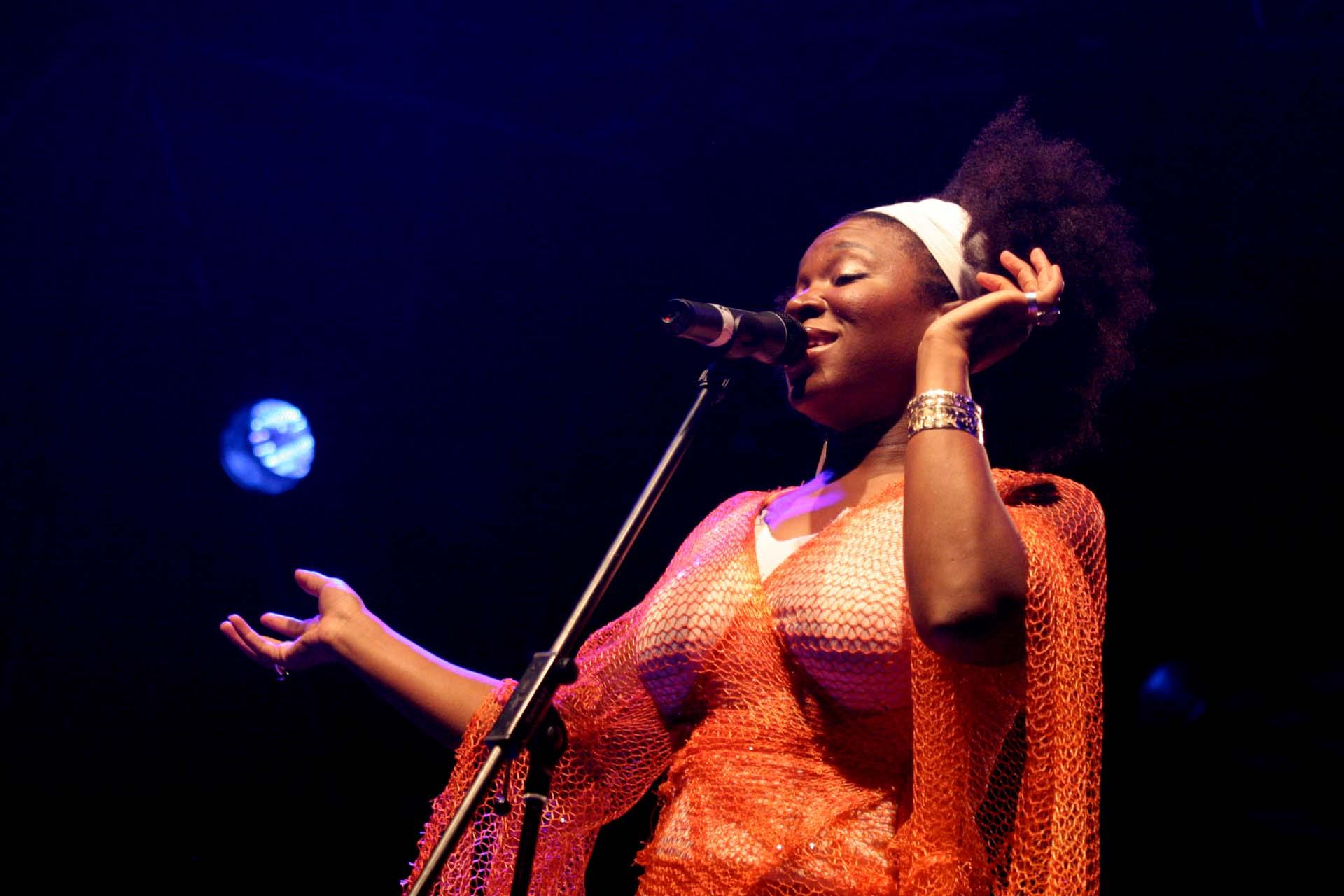 Das Stimmenfestival 2007 im Wenkenpark in Riehen mit India Arie