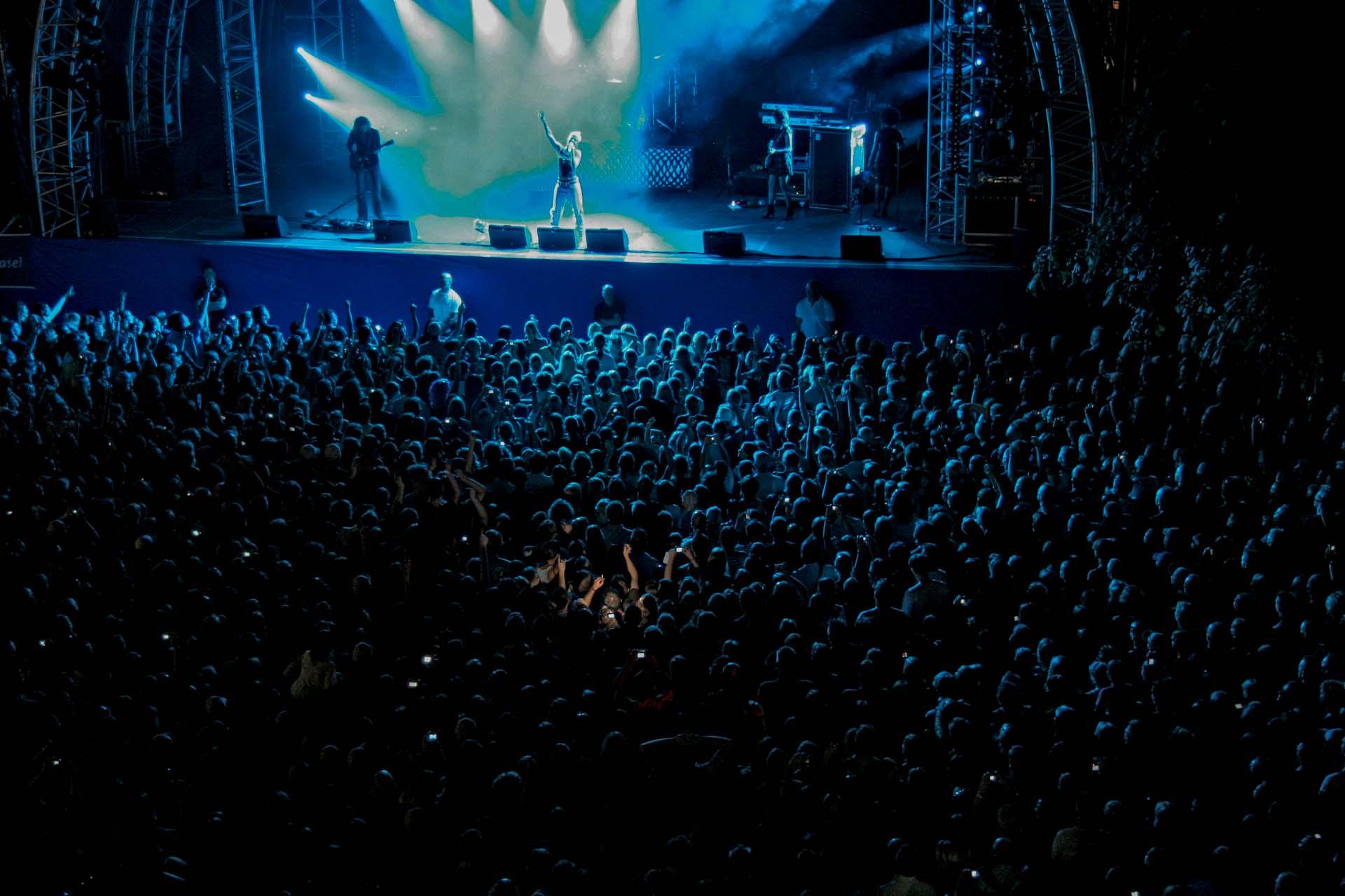 Stimmen 2007 – Die Markplatzkonzerte wurden durch Pink eröffnet