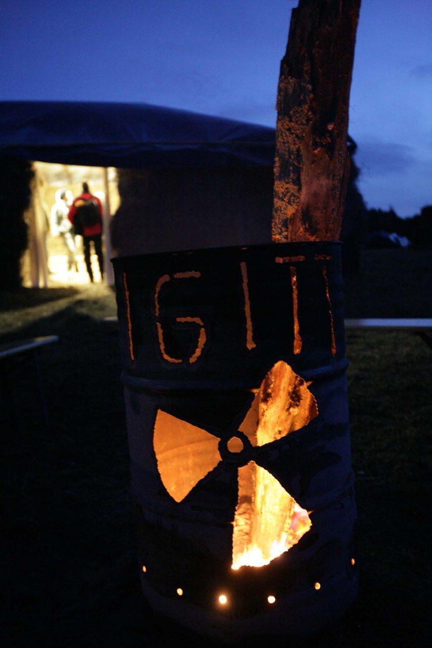 DEU, Germany, Gedelitz, 2008-11-10, Castor Protest © Stefan Pangritz