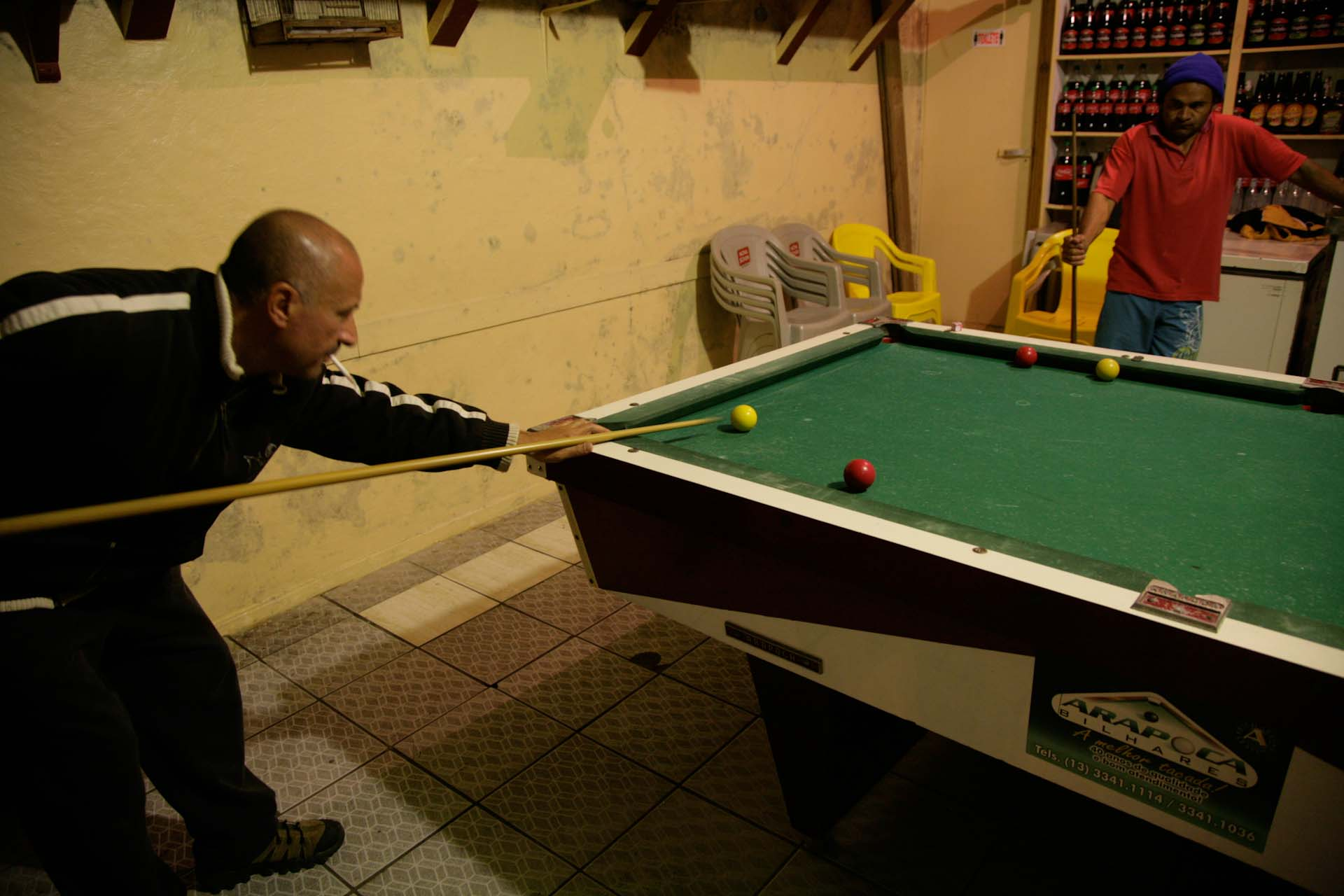 There is not much more than pool billiard to enjoy here..