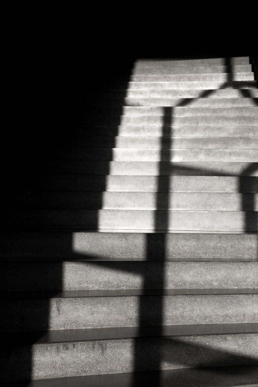 CHE, Switzerland, Dornach, 2012-10-19, Treppenhaus Goetheanum © Stefan Pangritz