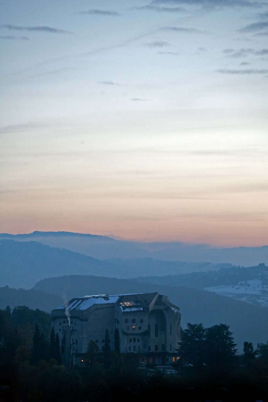 CHE, Switzerland, Dornach, 2012-10-29, Goetheanum © Stefan Pangritz