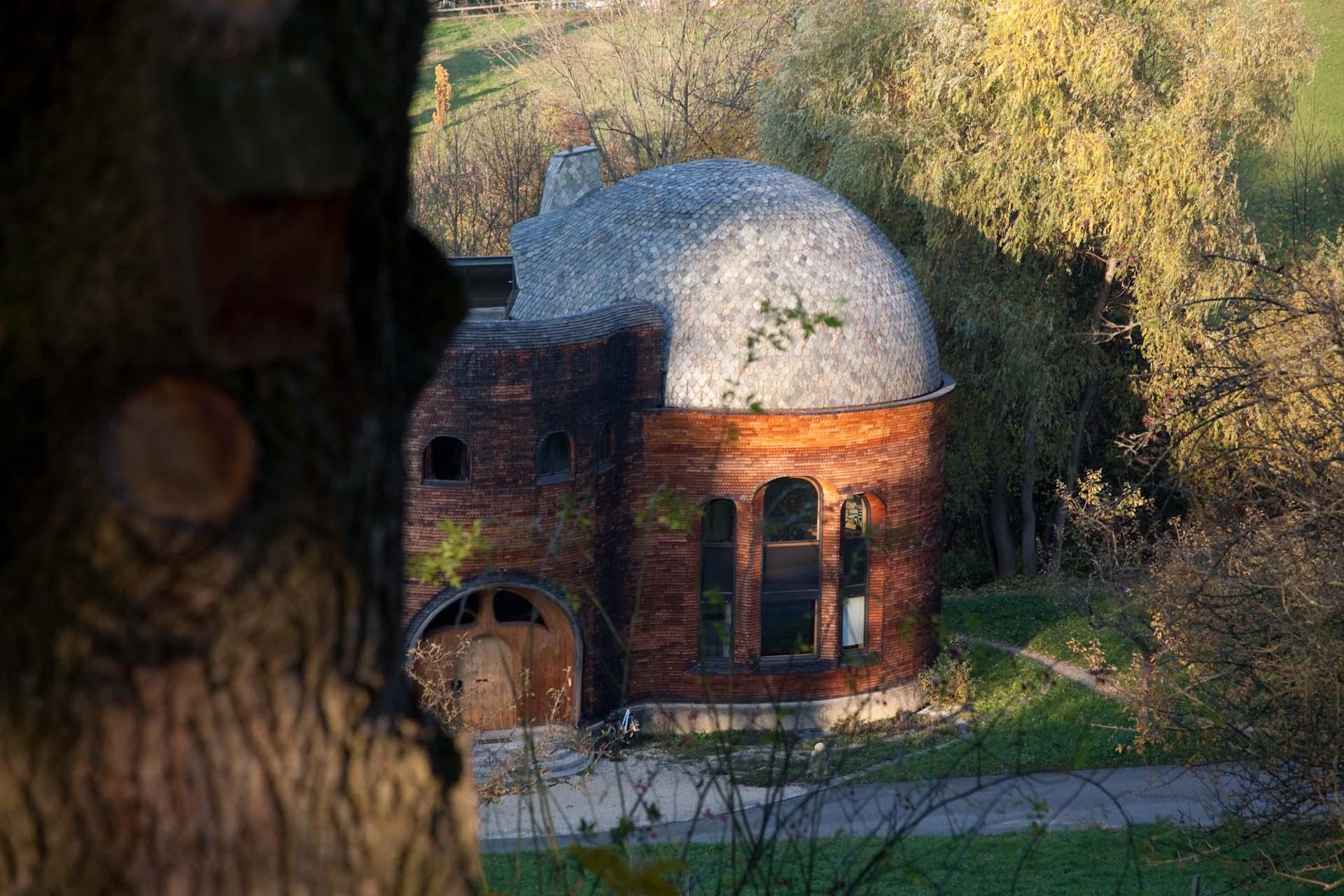 CH, Switzerland, Dornach, 2012-11-14, Glashaus Goetheanum © Stefan Pangritz