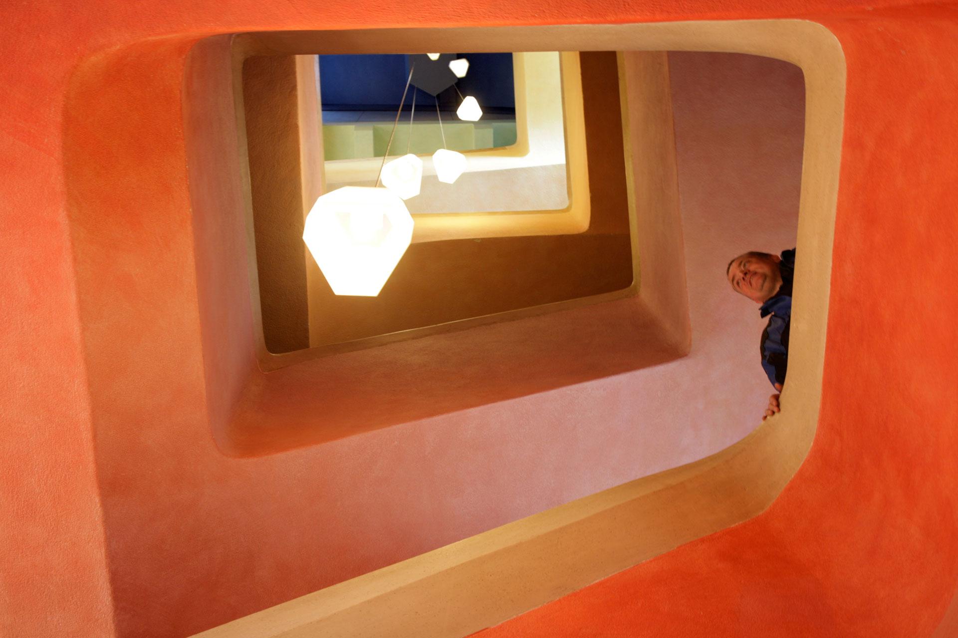Südtreppenhaus – South staircase
