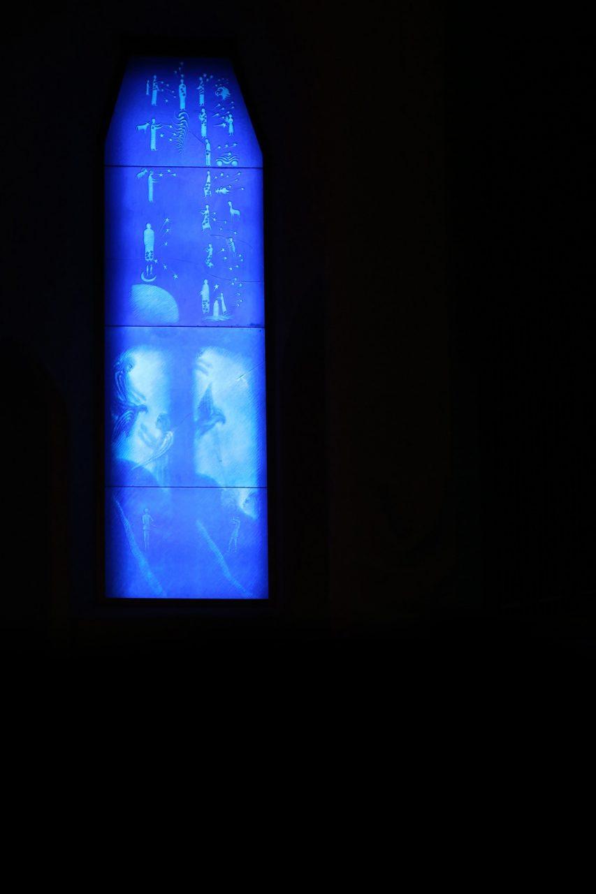 Das Blaue Fenster der russischen Künstlerin Assja Turgenieff – The Blue Window by the Russian artist Assja Turgenieff