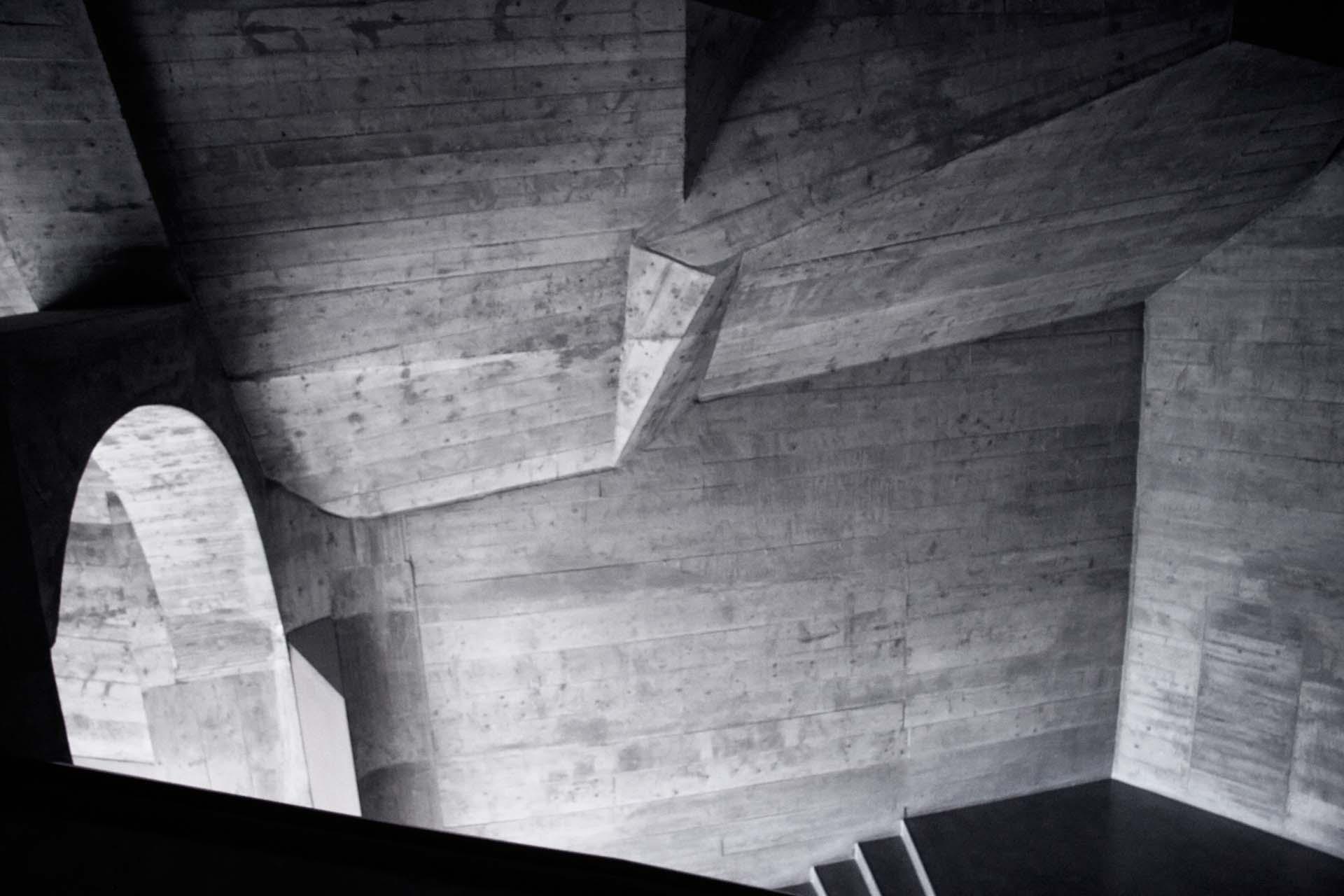 CHE, Switzerland, Dornach, 2008-03-12, Goetheanum Ttreppenhaus © Stefan Pangritz