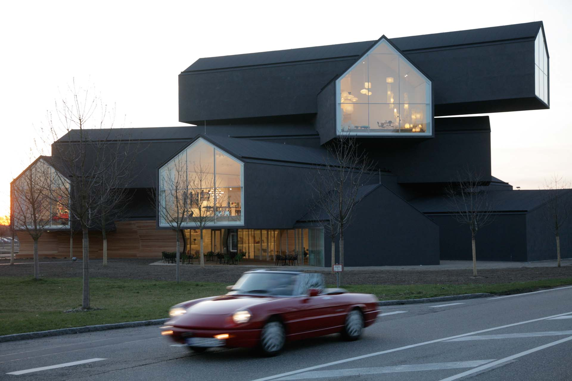 Vitra Haus is created as a showroom for the furniture and accessories of the Vitra Home line.