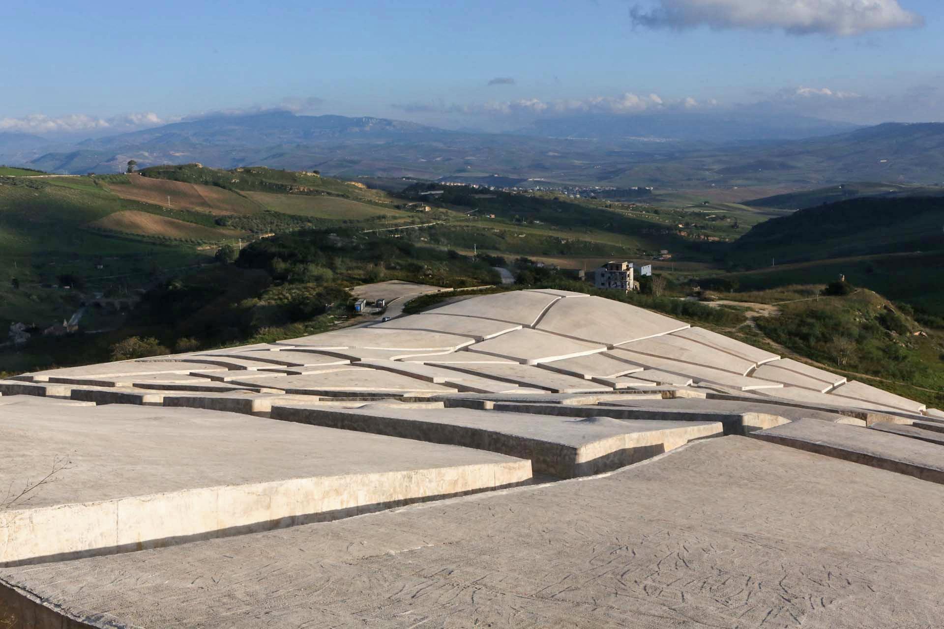 Ein weiter Blick in den Südwesten Siziliens...