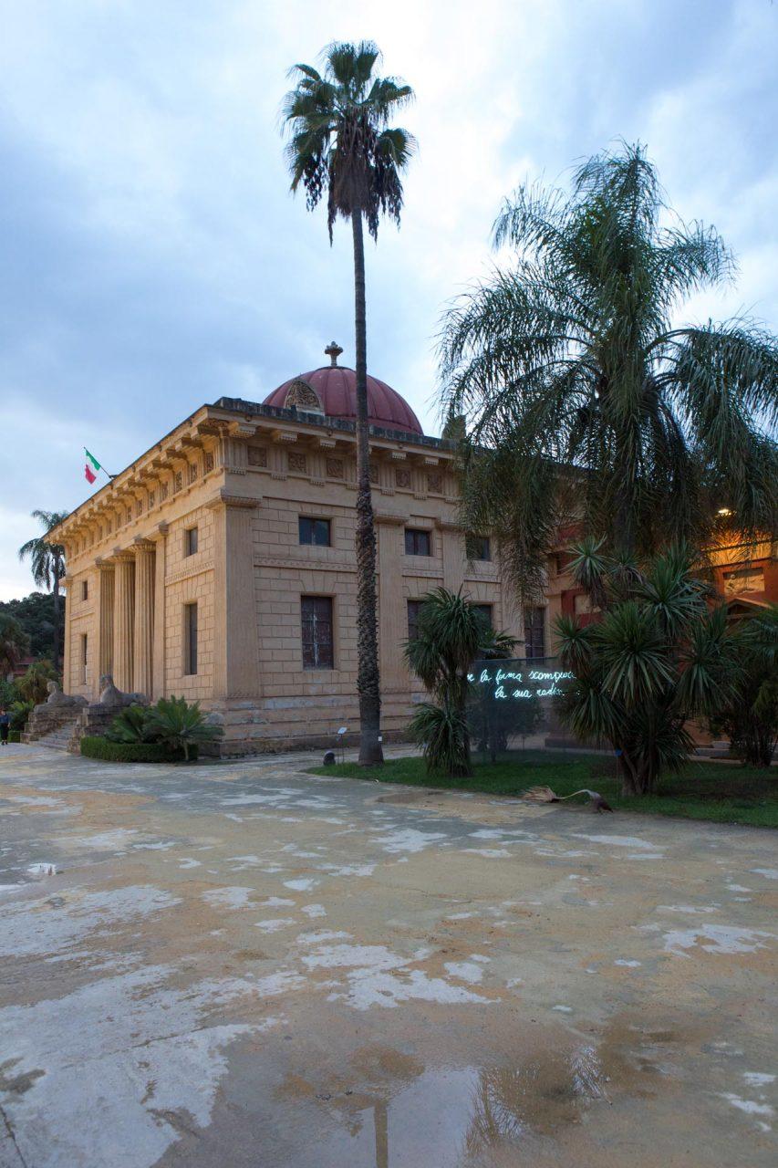 Palermos Orto Botanico ist Teil des Abschnitts 'Garten der Ströme des Planetengartens. Koexistenz kultivieren' – Palermo's Orto Botanico is part of the section 'Garden of Flows of The Planetary Garden. Cultivating Coexistence.'