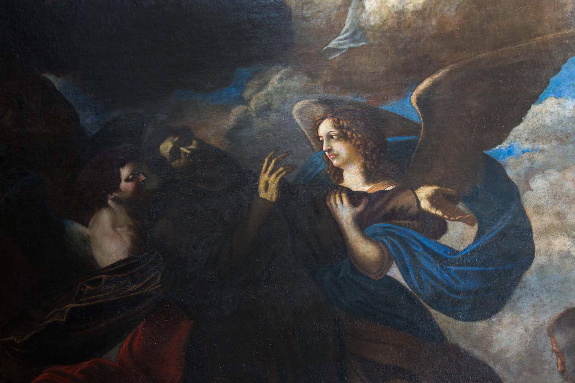San Giorgio dei Genovesi – Estasi di San Francesco, Gerardo Astorino (1624 - 1663)