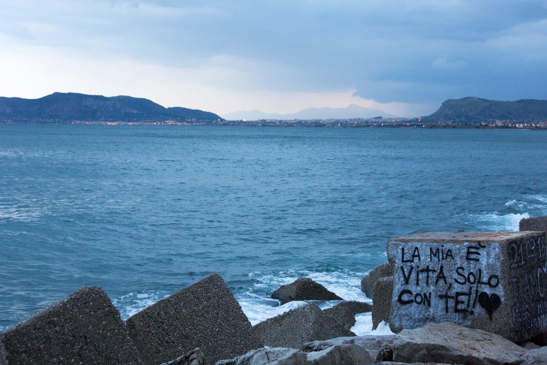 An der Promenade von Palermo...