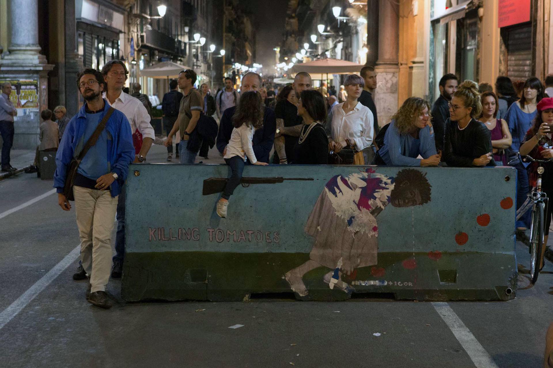 Streetart, Quattro Canti