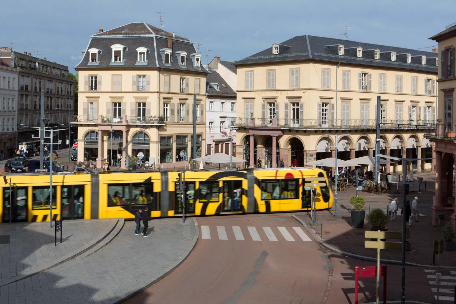 The city has been transformed over the last decade, with a new tram system and improved public spaces.